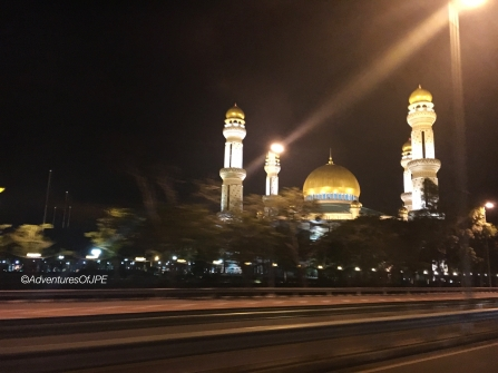 Last Peek of Jame Mosque