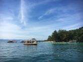 Arrival at Sapi Island