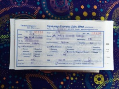 Ticket to Bandar