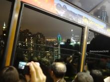 On the Peak Tram