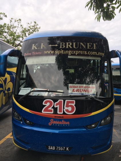 KK-Brunei Bus