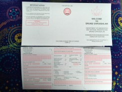 Arrival Cards for Brunei