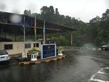 Bruneian Immigration at Labu, Temburong