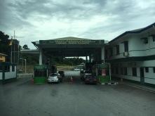 Malaysian Immigration at Pandaruan, Limbang, Sarawak