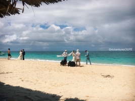 Couples at Puka Beach