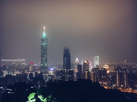 Taipei Skyline at the Elephant Mountain