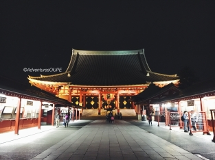 Senso-ji Temple at Night
