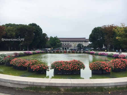 Ueno Park's View of TNM