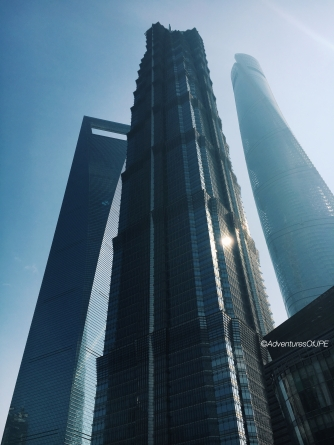 Shanghai World Financial Center, Jinmao Tower, Shanghai Tower
