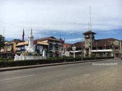 Rizal Park and City Hall