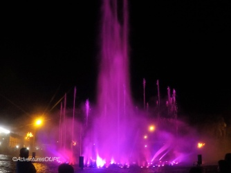 Fountain Show at Paseo del Mar