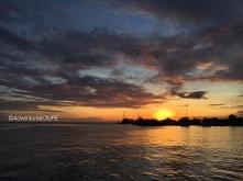 Sunset at Paseo del Mar
