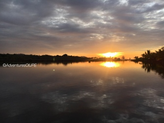 Sunset at Calugusan Beach