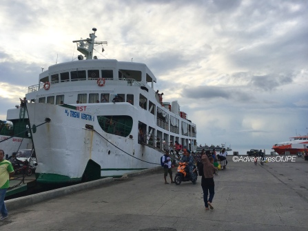 Ferry at Zamboanga Port