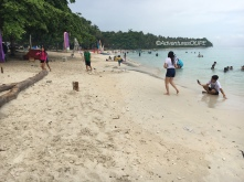 White Sand Beach of Malamawi Island